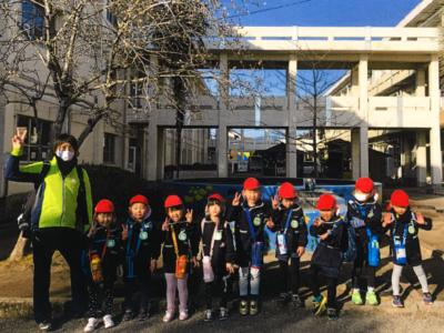 小学校見学(5歳児:にじぐみ)&弁当日
