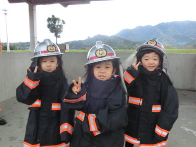 11月22日消防署見学