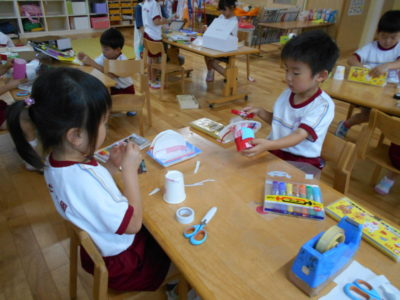 的あて遊び (5歳児・ぶどう組)